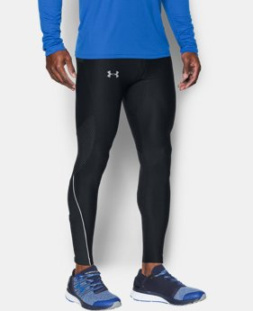 New Arrival Men's UA No Breaks Printed Run Leggings  2 Colors $69.99