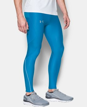Men's UA No Breaks Printed Run Leggings  1 Color $41.99