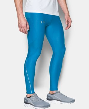 New Arrival Men's UA No Breaks Printed Run Leggings   $69.99
