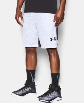 New to Outlet Men's UA Cross Court Shorts  1 Color $24.99
