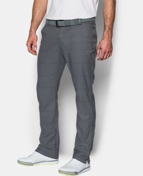 Men's UA Match Play Tapered Houndstooth Pants  2 Colors $89.99