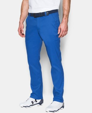 New Arrival  Men's UA Match Play Tapered Houndstooth Pants  2 Colors $104.99