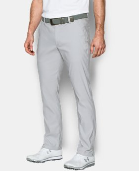 Men's UA Match Play Tapered Houndstooth Pants  1 Color $53.99