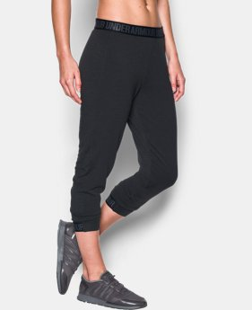 Women's UA Featherweight Fleece Crop  3 Colors $54.99