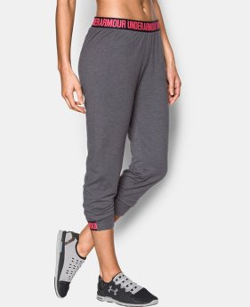 Women's UA Featherweight Fleece Crop  1 Color $23.24
