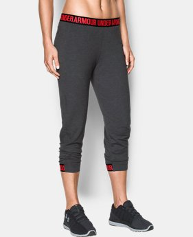Women's UA Featherweight Fleece Crop  3 Colors $64.99