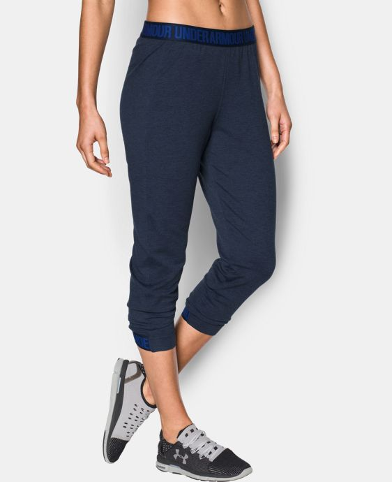 New Arrival Women's UA Featherweight Fleece Crop  2 Colors $54.99