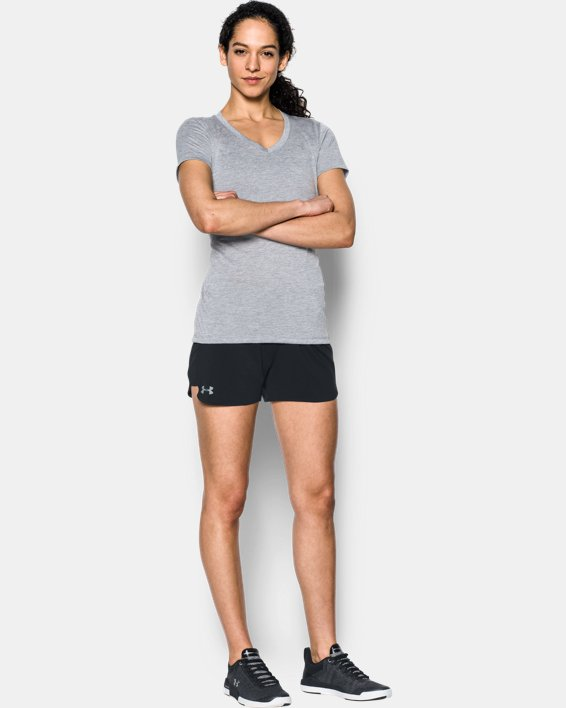 Women's UA Game Time Shorts, Black, pdpMainDesktop image number 0