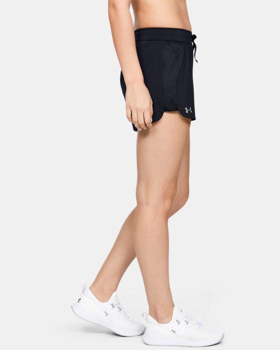Women's UA Game Time Shorts, Black, pdpMainDesktop image number 1