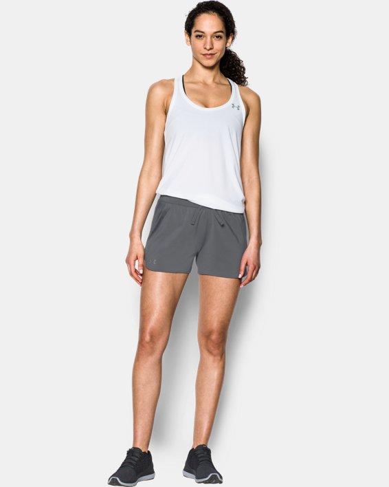 Women's UA Game Time Shorts, Gray, pdpMainDesktop image number 0