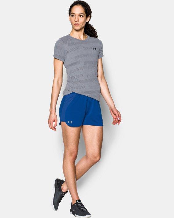Women's UA Game Time Shorts, Blue, pdpMainDesktop image number 0
