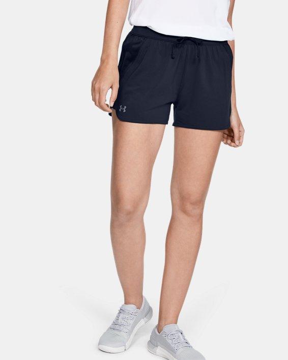 Women's UA Game Time Shorts, Navy, pdpMainDesktop image number 3