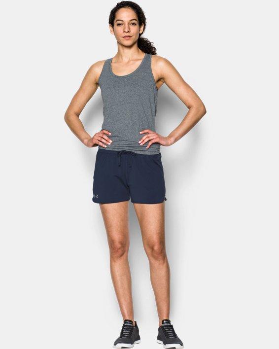 Women's UA Game Time Shorts, Navy, pdpMainDesktop image number 0