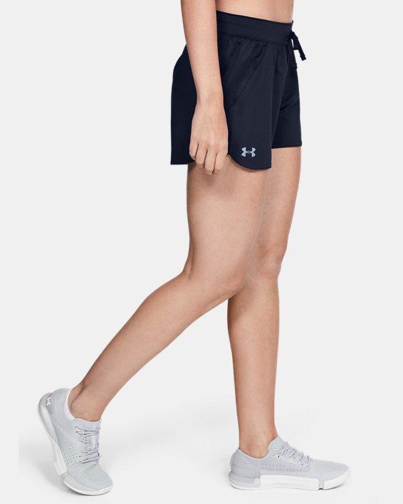 Women's UA Game Time Shorts, Navy, pdpMainDesktop image number 1