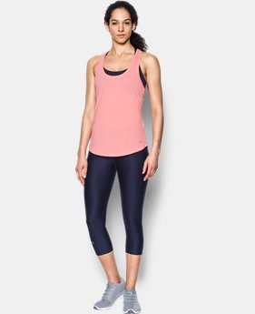 Women's UA Threadborne Mesh Tank  1 Color $16.99 to $19.99
