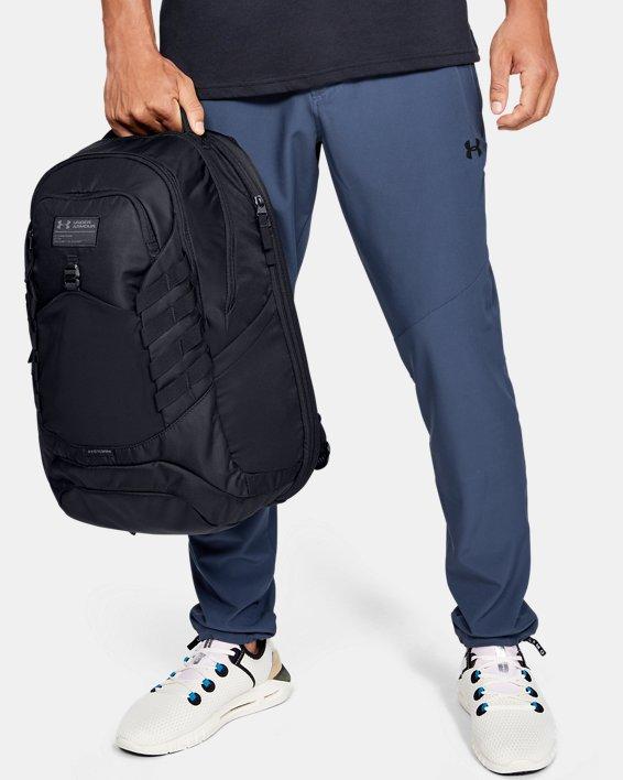 Men's UA Hudson Backpack, Black, pdpMainDesktop image number 0