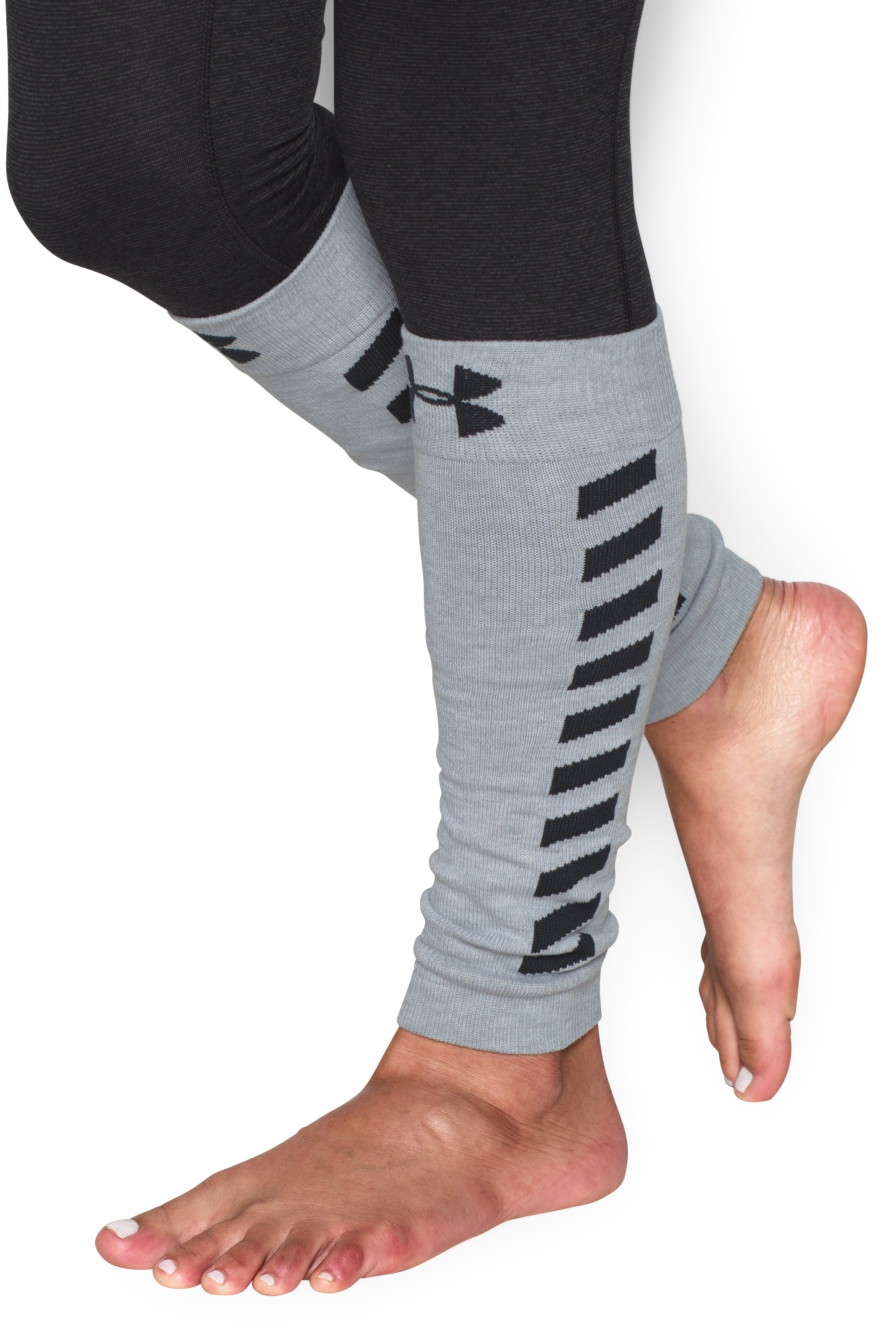 Women's UA Sport Leg Warmers, Black , undefined