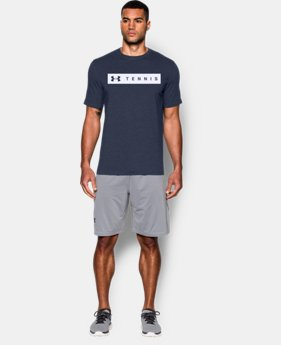 New Arrival Men's UA Tennis T-Shirt LIMITED TIME: FREE SHIPPING 1 Color $24.99