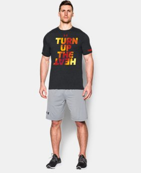 New Arrival Men's UA Tennis Turn Up T-Shirt LIMITED TIME: FREE SHIPPING 1 Color $24.99