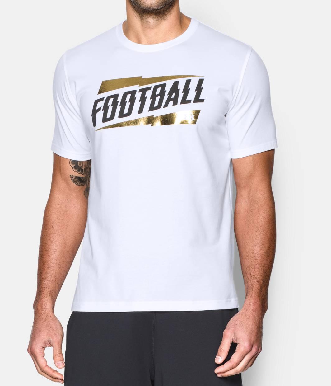 Men s ua football t shirt under armour us for Under armor football shirts