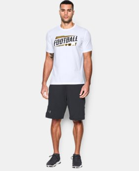 New Arrival Men's UA Football T-Shirt LIMITED TIME: FREE SHIPPING 1 Color $24.99