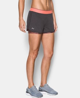 Women's UA HeatGear® Armour 2-In-1 Shorty  1 Color $33.99