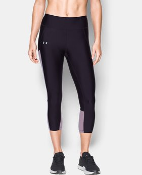 Women's UA Fly-By Mesh Inset Capris  1 Color $38.99