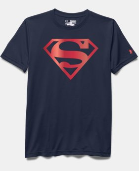 Girls' Under Armour® Alter Ego Superman Logo T-Shirt