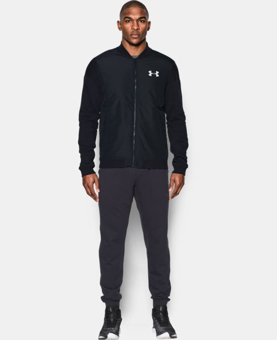 New Arrival Men's UA Pursuit Insulated Track Jacket  1 Color $100