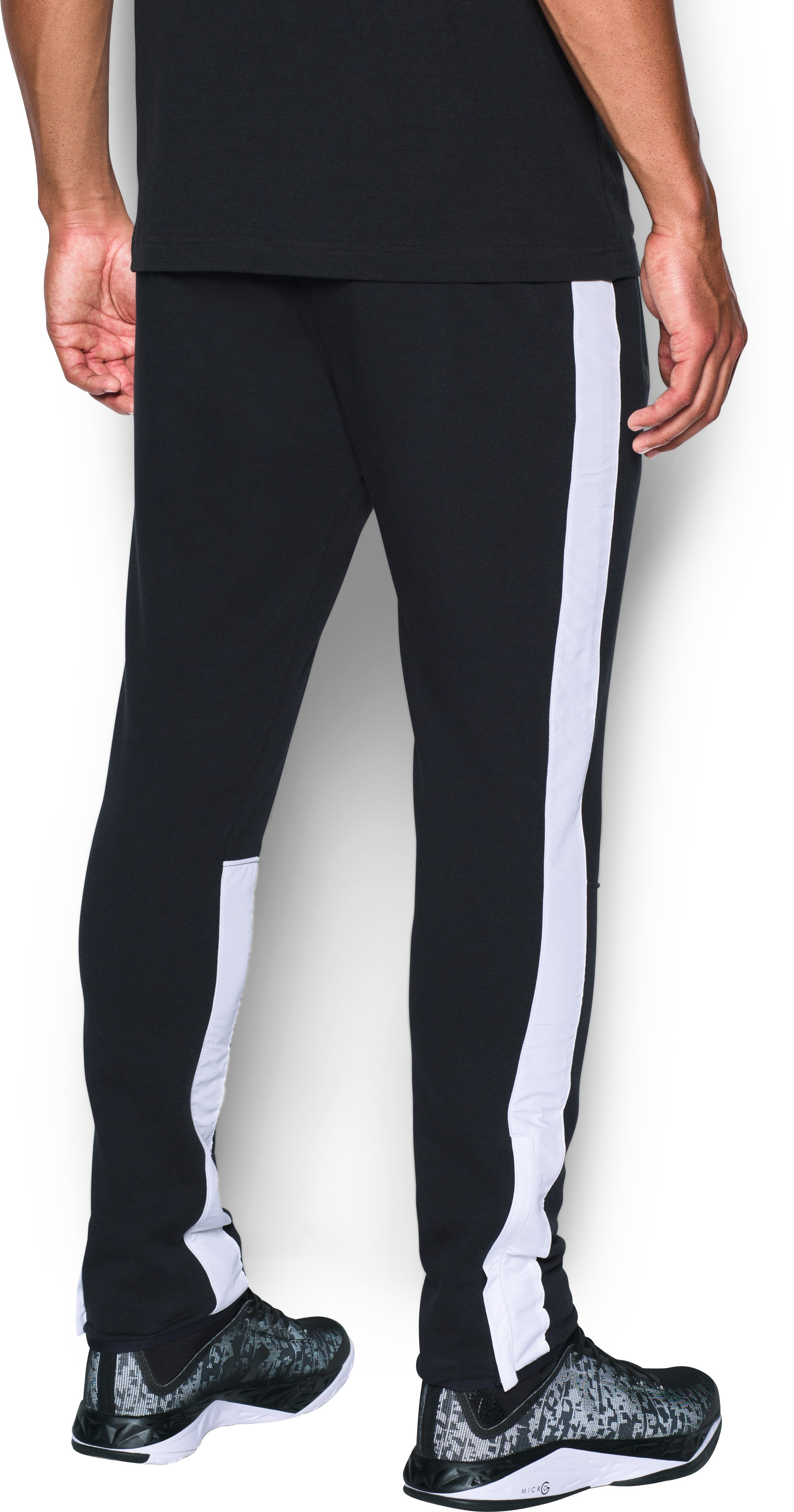 Men's UA Pursuit Tapered Pants, Black ,