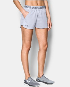 Women's UA Play Up Shorts 2.0 - Mesh 1 Color Available $34.99