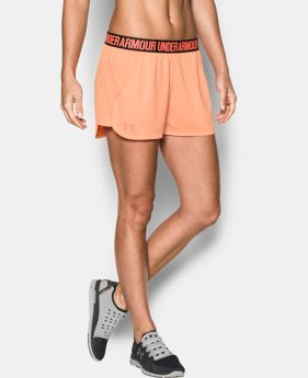 Women's UA Play Up Shorts 2.0 - Mesh  1 Color $17.99 to $22.49