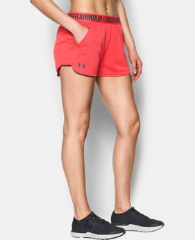 Women's UA Play Up Shorts 2.0 - Mesh  1 Color $34.99