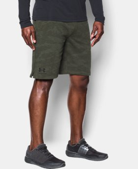 New to Outlet Men's UA Sportstyle Fleece Camo Shorts  1 Color $34.99