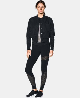 Women's UA Opening Night Bomber Jacket  1 Color $109.99 to $139.99