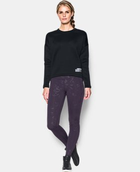 Women's UA Rehearsal Crop Graphic Sweatshirt  1 Color $49.99
