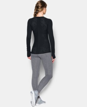Women's UA Mirror Floral Long Sleeve  1 Color $32.99