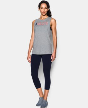 Women's UA USA Athlete Muscle Tank   $29.99