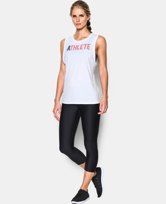 Women's UA USA Athlete Muscle Tank  1 Color $29.99