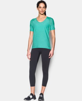 New Arrival Women's UA Armour Sport Twist Short Sleeve  1 Color $34.99
