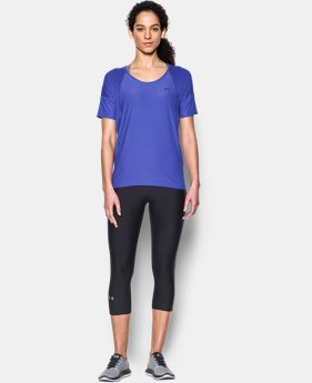 Women's UA Got Game Twist Short Sleeve  1 Color $27.99