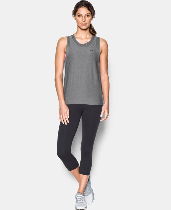 New Arrival  Women's UA Armour Sport Twist Muscle Tank  1 Color $39.99