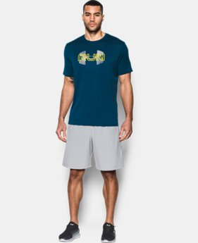 New Arrival Men's UA Run Overlap Twist T-Shirt  1 Color $27.99