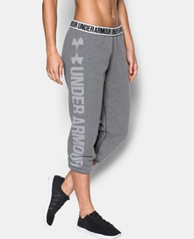 Women's UA Favorite Fleece Capris LIMITED TIME OFFER 4 Colors $39.99