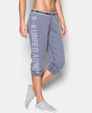 New Arrival  Women's UA Favorite Fleece Capri  4 Colors $59.99