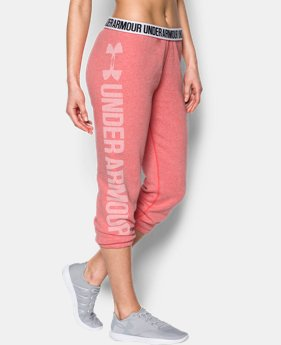 Women's UA Favorite Fleece Capris LIMITED TIME OFFER 1 Color $39.99