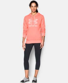 Best Seller Women's UA Favorite Fleece Sportstyle Hoodie  1 Color $54.99