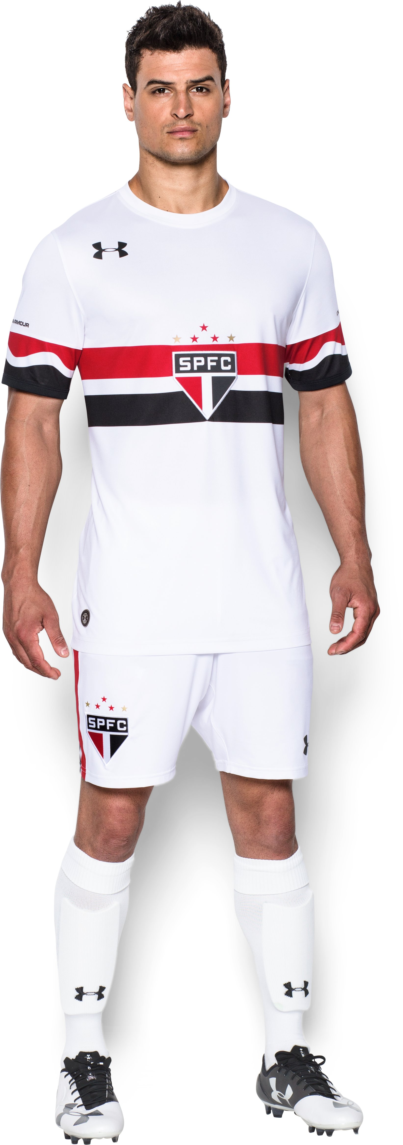 Men's São Paulo 16/17 Home Replica Jersey, White, zoomed image