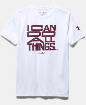 Boys' SC30 I Can Do All Things T-Shirt