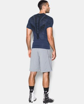 Men's HeatGear® SuperVent Armour Football Short Sleeve Shirt  1 Color $37.49